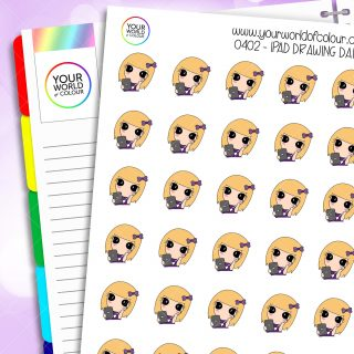 Ipad Drawing Daisy Character Stickers