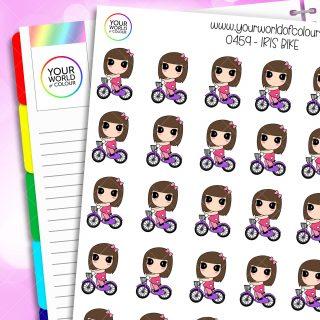Bike Iris Character Stickers