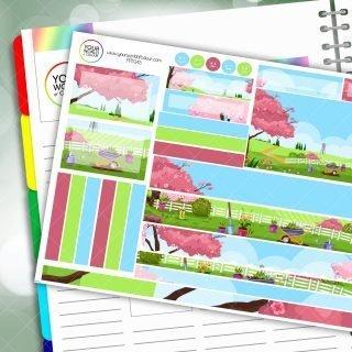 Gardening Passion Planner Daily Sticker Kit