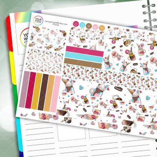 Crazy Shakes Passion Planner Daily Sticker Kit