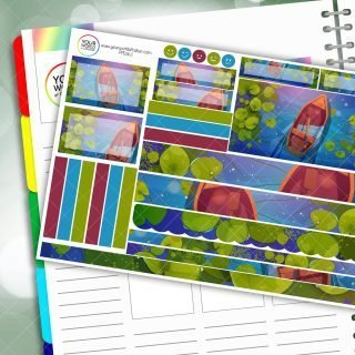 Boating Passion Planner Daily Sticker Kit
