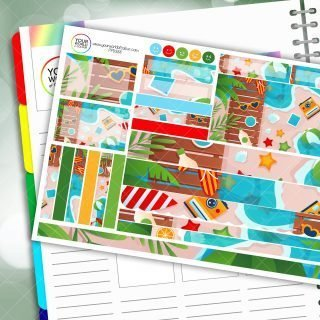 Decked Out Passion Planner Daily Sticker Kit
