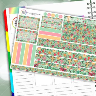 Risen Passion Planner Daily Sticker Kit