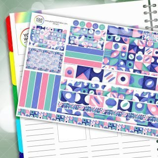 Pastel Muse Passion Planner Daily Sticker Kit