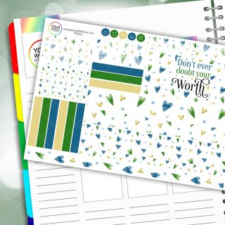 Worth Passion Planner Daily Sticker Kit