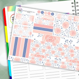 Serenity Passion Planner Daily Sticker Kit