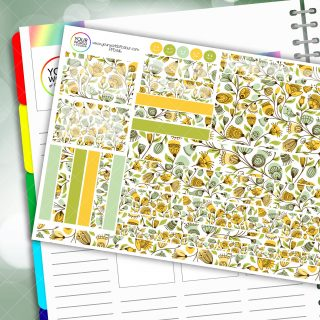 Elegance Passion Planner Daily Sticker Kit