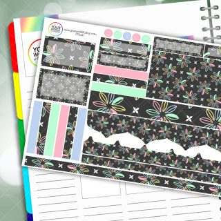 Petal Passion Planner Daily Sticker Kit