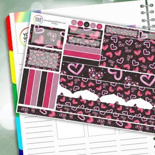 Heart Breaker Passion Planner Daily Sticker Kit