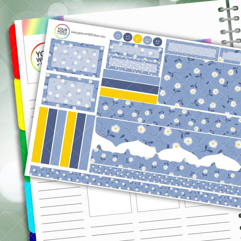 Maisy Daisy Passion Planner Daily Sticker Kit