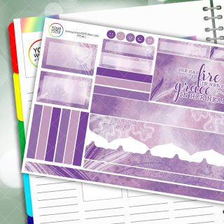 Grace Passion Planner Daily Sticker Kit