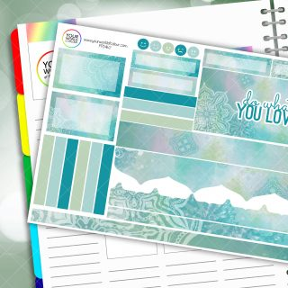 Do What You Love Passion Planner Daily Sticker Kit