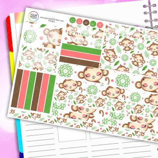 Monkey Buisness Passion Planner Daily Sticker Kit