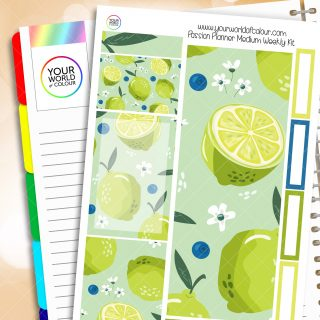 Limes Passion Planner Weekly