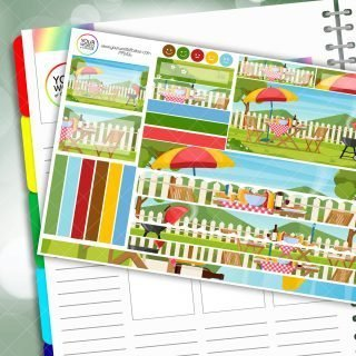 BBQ Passion Planner Daily Sticker Kit