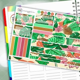 Leave The Crowd Passion Planner Daily Sticker Kit