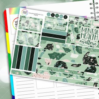 Mental Health Matters Passion Planner Daily Sticker Kit