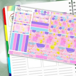 Bella Passion Planner Daily Sticker Kit