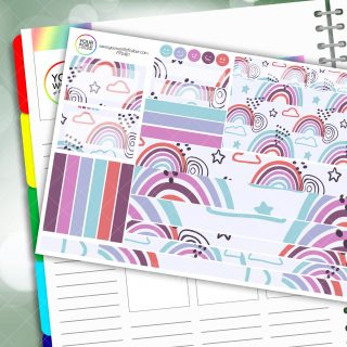 Ava Passion Planner Daily Sticker Kit