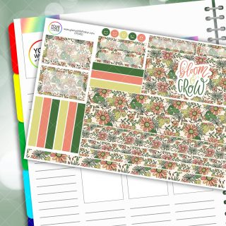 Bloom and Grow Passion Planner Daily Sticker Kit