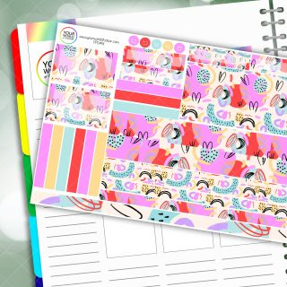 Isabella Passion Planner Daily Sticker Kit