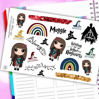 Muggle Journaling Planner Stickers