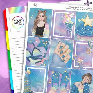 Starry Skies Weekly Kit