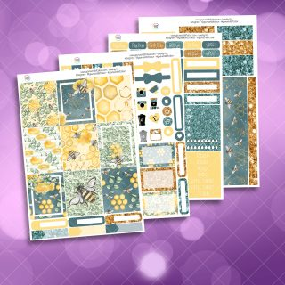 Bees Four Page Full Kit