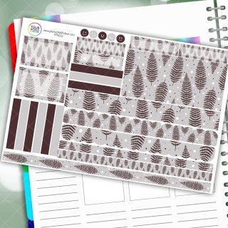Fern Passion Planner Daily Sticker Kit