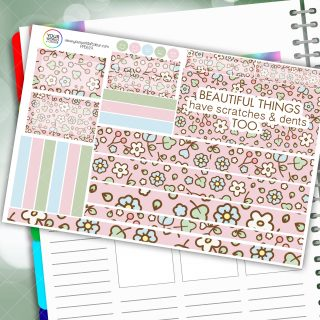 Beautiful Things Passion Planner Daily Sticker Kit