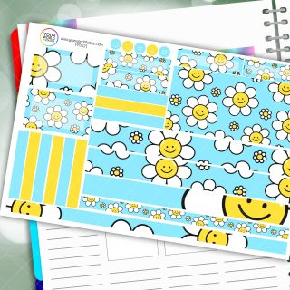 Smile Passion Planner Daily Sticker Kit