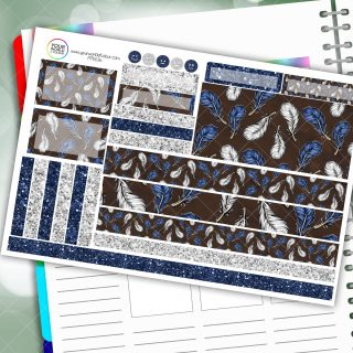 Clever Feathers Passion Planner Daily Sticker Kit