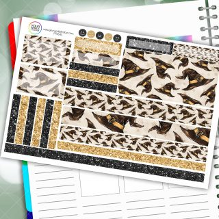 Dedicated Hats Passion Planner Daily Sticker Kit