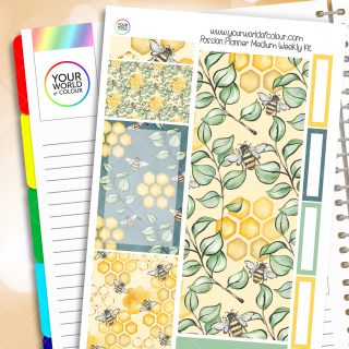 Honey To The Bee Passion Planner Weekly Kit