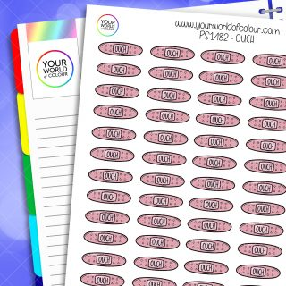 Ouch Planner Stickers