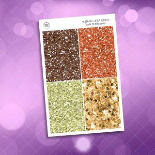 Autumn Mood Glitter Headers