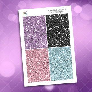 Pastel Spooks Glitter Headers