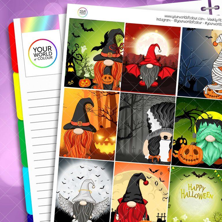 Halloween Gonks Weekly Kit