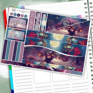 Fantasy Fish Passion Planner Daily Sticker Kit