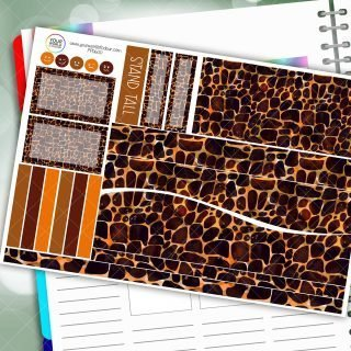 Stand Tall Passion Planner Daily Sticker Kit