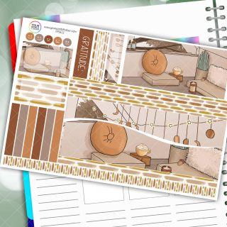 Comfy Passion Planner Daily Sticker Kit