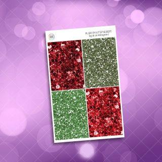 Falalala glitter headers