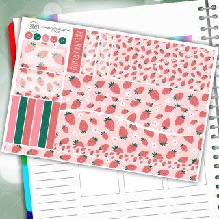 Feelin Fruity Passion Planner Daily Sticker Kit