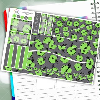 Apple A Day Passion Planner Daily Sticker Kit