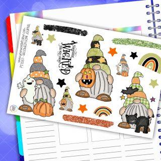 Pumpkin Journal Gonk Planner Stickers