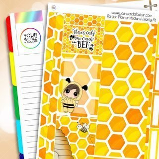 Honey Bee Passion Planner Weekly Kit